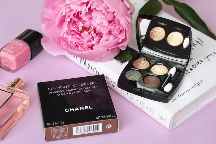 New eye shadows Chanel Empreinte Du Desert